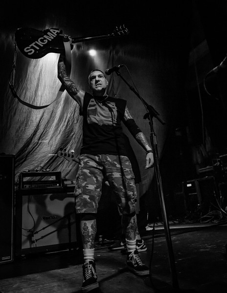 February 28, 2018 The Agnostic Front at the Egyptian Room in Indianapolis, Indiana, in support of the Dropkick Murphys. Photo by Tony Vasquez.