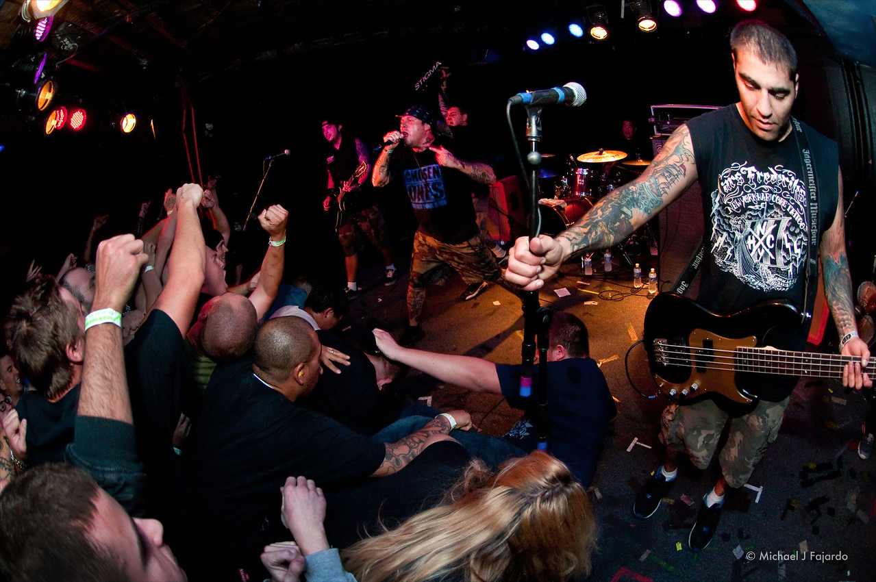 Agnostic Front<br /> Marquis Theater<br /> Denver, CO  09/14/11