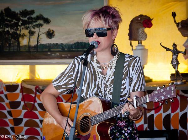 Ainslie Allen at the Newtown Fair