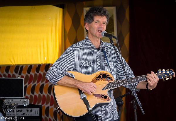 Alan Downes at the Newtown Fair 2015