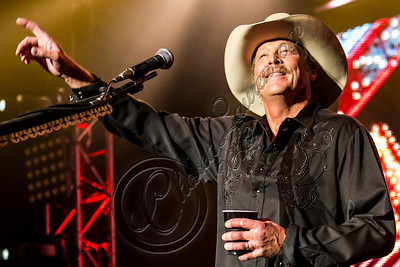 LOS ANGELES, CA - JULY 25:  Musician Alan Jackson performs at The Greek Theatre on July 25, 2012 in Los Angeles, California.  (Photo by Chelsea Lauren/WireImage)