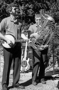 Alan Phillips, banjo & vocals