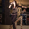 Alana Grace performs for US Troops in Camp Arifjan Kuwait.