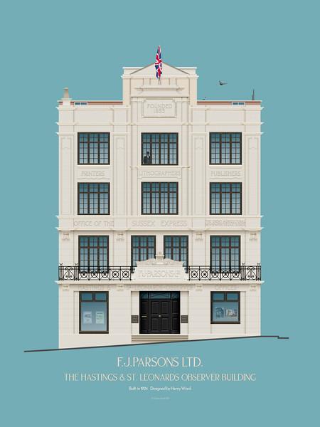 F. J. Parsons Ltd. The Hastings & St Leonards Observer Building