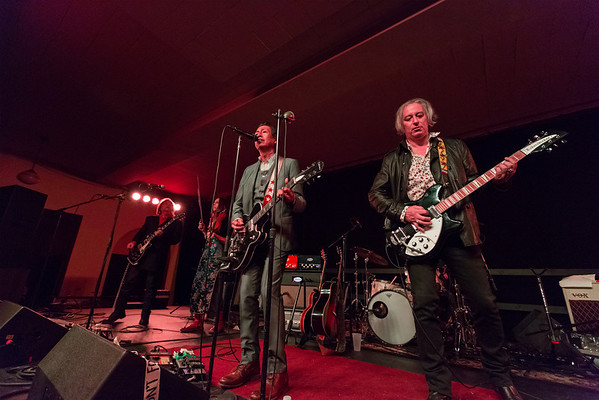 Alejandro Escovedo with Peter Buck at the Taft Theatre Ballroom, Cincinnati , OH February 26, 2014