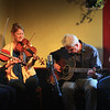 Alex Caton and Dick Harrington, with Mary Brook Gray and Dan Rublee. Little Grill March 26, 2014.