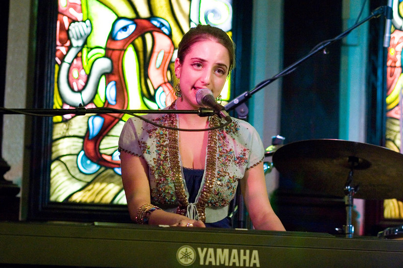 Alexa Ray Joel at Hard Rock Cafe Baltimore MD May 21 2006 Image Copyright  © Jason A. Knauer