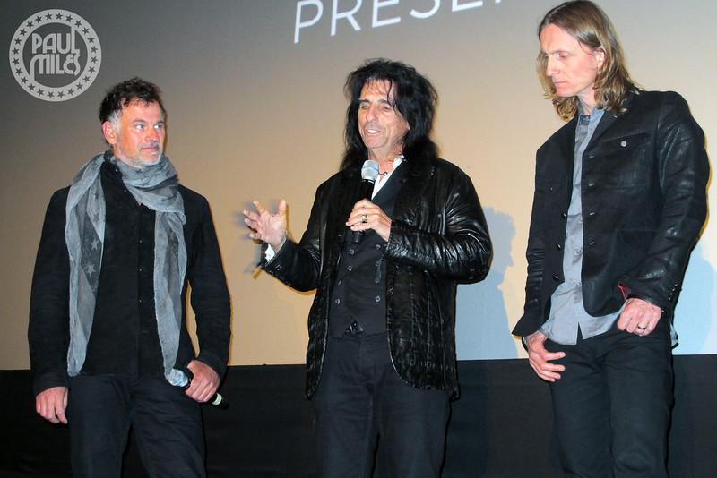 Scot McFadyen, Alice Cooper & Sam Dunn