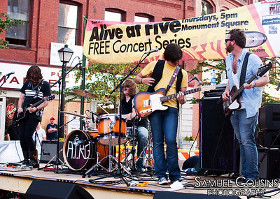 All The Real Girls, at the Alive at Five concert series in Monument Square.