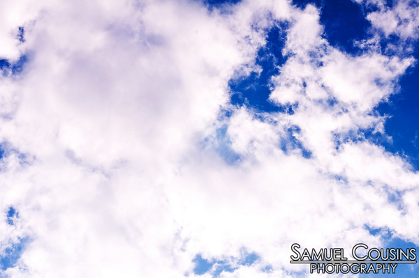 Clouds in the sky were really pretty. Made a nice day for the Alive at Five show.