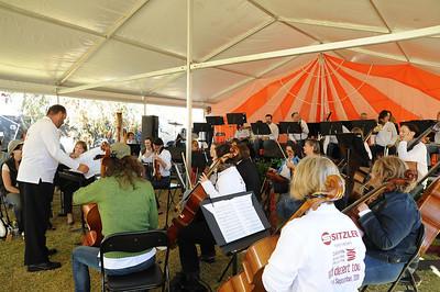 Meet the orchestra! Red Desert Tour, Alice Springs, 11 September 2011