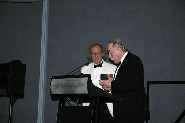 Mr Tom Pauling and Martin Jarvis, DSO's 20 Year Celebration