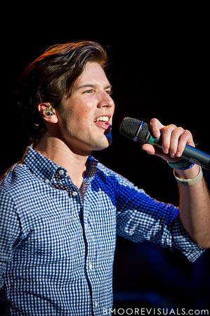 Zachary David Porter of Allstar Weekend performs in support of the band's upcoming album All The Way in Clearwater, Florida on July 30, 2011