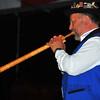NENDAZ, SWITZERLAND – JULY 24: Sixth placed Hand Matt playing solo  at the 10th International Festival of Alpine horns :  July 24, 2011 in Nendaz Switzerland