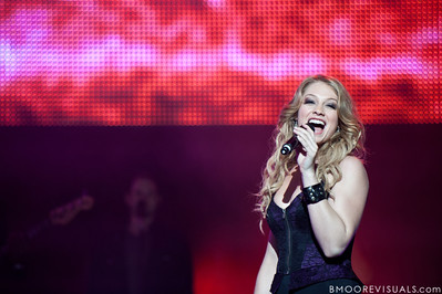 Didi Benami performs during the American Idol Live! Tour at St. Pete Times Forum in Tampa, Florida on August 4, 2010.