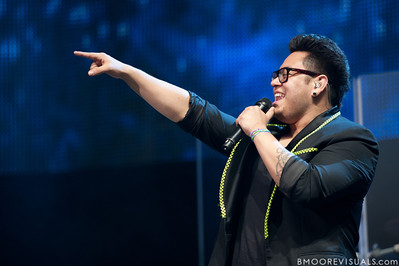 Andrew Garcia performs during the American Idol Live! Tour at St. Pete Times Forum in Tampa, Florida on August 4, 2010.