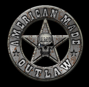 American Made Outlaw Logo  www.americanmadeoutlaw.com  www.american-made-outlaw.tumblr.com  http://www.americanmadeoutlaw.tumblr.com