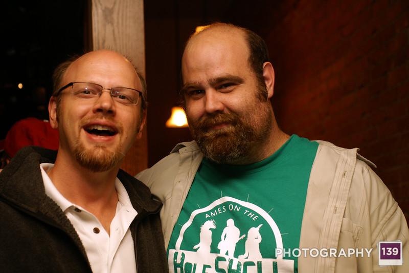 Matt and I
