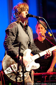 Amy Ray and Julie Wolf perform on February 18, 2010 at Capitol Theatre in Clearwater, Florida