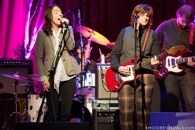 Brandi Carlile, Melissa York, Amy Ray, and Greg Griffith perform on February 18, 2010 at Capitol Theatre in Clearwater, Florida