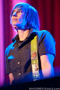 Kaia Wilson performs with Amy Ray on February 18, 2010 at Capitol Theatre in Clearwater, Florida