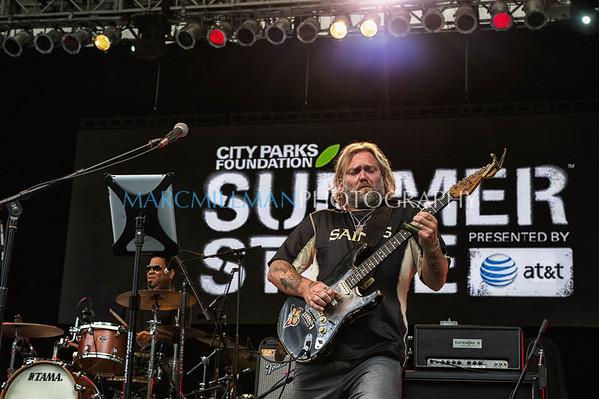 Anders Osborne @ Summerstage (Mon 7/22/13)