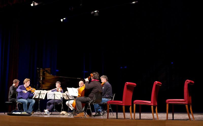 Andrea Lucchesini, Luca Ranieri, Quartetto di Cremona