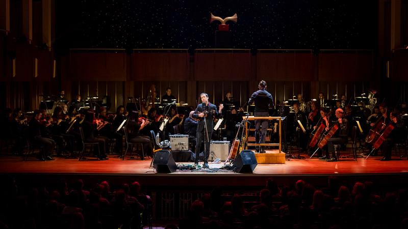 September 26, 2018 Andrew Bird at the Indianapolis Symphony Orchestra. Photo by Tony Vasquez for Jams Plus Media