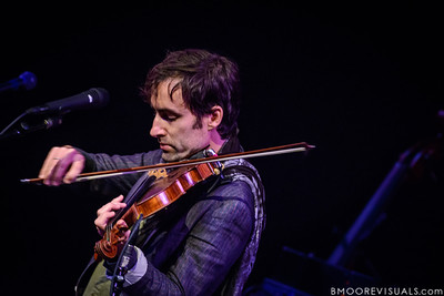 """Andrew Bird performs on October 9, 2012 in support of """"Break It Yourself"""" at Straz Performing Arts Center in Tampa, Florida"""