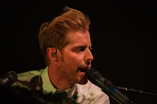 Andrew McMahon in the Wilderness Upside Down Flowers Tour at the Egyptian Room in the Old National Centre in Indianapolis, Indiana. Photo by Tony Vasquez for Entranced Media February 28, 2019.