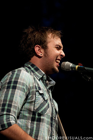 Andrew Witt performs on October 11, 2009 at Harborside Church in Safety Harbor, Florida