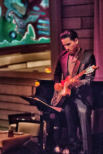R.J. Ronquillo Annie Trousseau (Ana Maria Lombo) @ Vibrato Jazz Grill