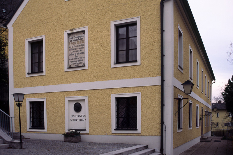 The school house where he was born in 1824