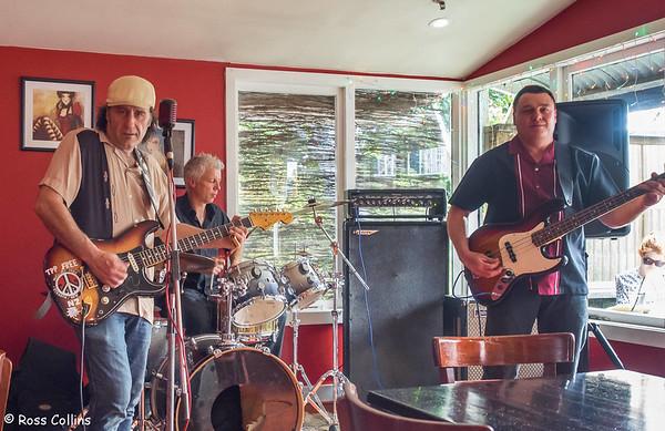 Tony Mad Trio at the Kelburn Village Pub, 13 April 2014