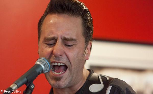 Tony Mad Trio at Kelburn, April 2014