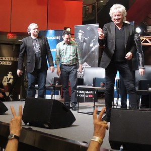 April 12, 2018. The Moody Blues are at the Cleveland R & R Hall of Fame.