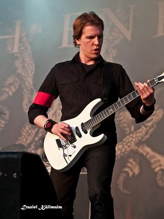Enemy guitarist
