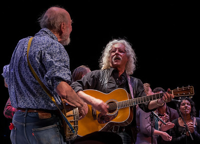 Pete Seeger and Arlo Guthrie with The Power of Song.