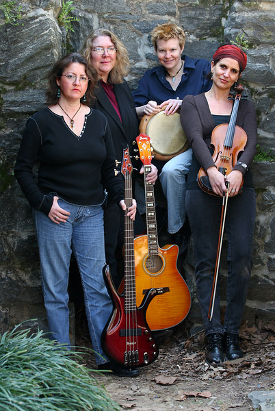 Rhonda Cadle And The String Poets. Sunday, March 18, 2007 at Piedmont Park, Atlanta, Georgia.