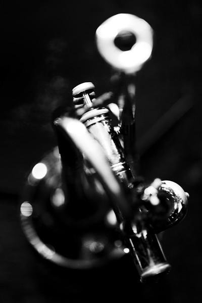 Teagan Taylor's trumpet