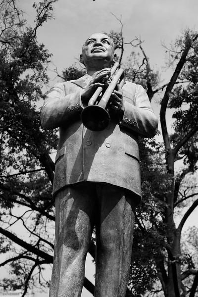 "William Christopher ""W. C."" Handy statue"