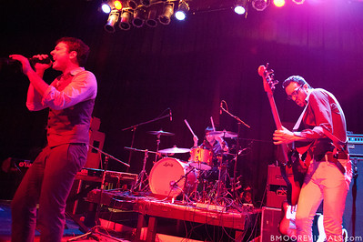 Dan Nigro, Cliff Sarcona, and Julio Tavarez of As Tall As Lions perform on May 2, 2010 at State Theatre in St. Petersburg, Florida