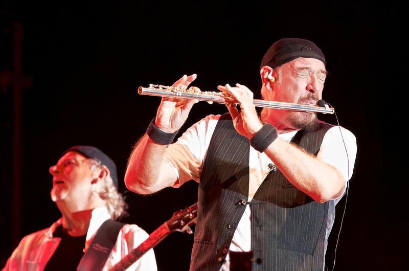 Martin Barre, Ian Anderson - Jethro Tull - Asti, Piazza Cattedrale