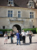 Afternoon rehearsal at the 12th century Chateau Clos du Vougeot near Nuits St. George, Burgundy.
