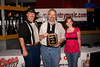 l-r<br /> Allen Coffield, owner of AtlantaCountryMusic.com, Moby Carney of the Moby In The Morning Radio Program and Teresa Smith pose after Moby receives his Person Of The Year Award from AtlantaCountryMusic.com