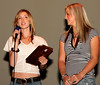 Chelsey Bellnier(L)-Top Teen Artist in Georgia in 2007 as voted by the readers of AtlantaCountryMusic.com and and runner-up, Hali Hicks.