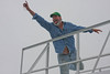 King of the world, George-style!