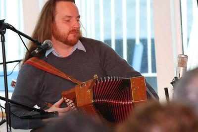 Dan Payne, native musician extraordinaire. Leader for Adventure Canada.
