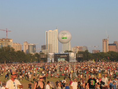 The ACL Fest Skyline.
