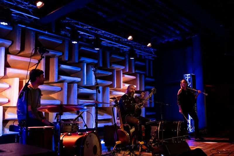Austin Stirling at the HI-FI on February 27, 2021. Photo by Tony Vasquez
